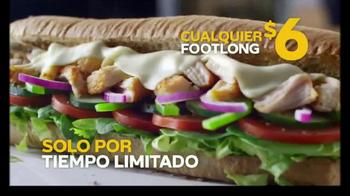 Subway Footlong Fest TV Spot, 'Tus favoritos' [Spanish] - Thumbnail 7