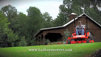 Bad Boy Mowers TV Spot, 'Wide-Open Full Throttle Bad Boy Mower Country'