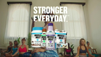 Cytosport Muscle Milk TV Spot, 'For Women With Muscles: Yoga' - Thumbnail 10