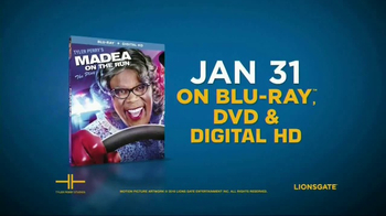 Tyler Perry's Madea on the Run Home Entertainment TV Spot - Thumbnail 9
