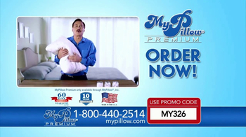 My Pillow Premium TV Spot, 'Enjoy Deep Sleep' - Thumbnail 2