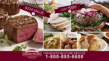 Omaha Steaks Deluxe Gift Package TV Spot, 'Truly Appreciated' - Thumbnail 7