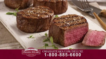 Omaha Steaks Deluxe Gift Package TV Spot, 'Truly Appreciated' - Thumbnail 4