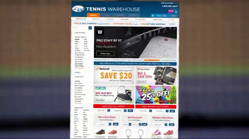 Tennis Warehouse TV Spot, 'Gear Up: Comparing Rackets' - Thumbnail 8