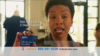 Brink's Prepaid MasterCard TV Spot, 'Peace of Mind: Guaranteed Approval' - Thumbnail 2