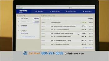 Brink's Prepaid MasterCard TV Spot, 'Peace of Mind: Guaranteed Approval' - Thumbnail 3