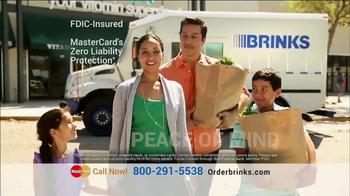 Brink's Prepaid MasterCard TV Spot, 'Peace of Mind: Guaranteed Approval' - Thumbnail 4