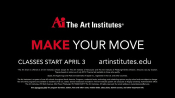 The Art Institutes TV Spot, 'Make Your Move' - Thumbnail 9
