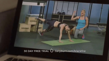 Daily Burn TV Spot, \'Black Fire\' Featuring Bob Harper