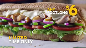 Subway Footlong Fest TV Spot, 'Any of Your Favorites' - Thumbnail 8