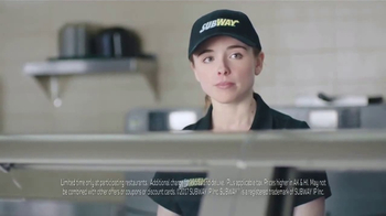 Subway Footlong Fest TV Spot, 'Any of Your Favorites' - Thumbnail 9