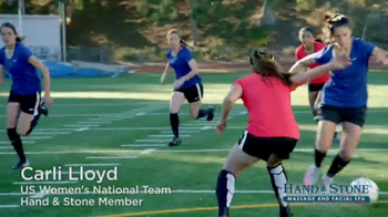 Hand and Stone TV Spot. '2017 Valentine's Day' Featuring Carli Lloyd - Thumbnail 1