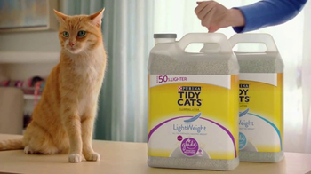 Purina Tidy Cats LightWeight With Glade TV Spot, 'The Power of Pleasant' - Thumbnail 4