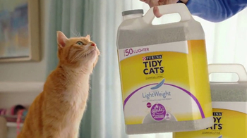 Purina Tidy Cats LightWeight With Glade TV Spot, 'The Power of Pleasant'