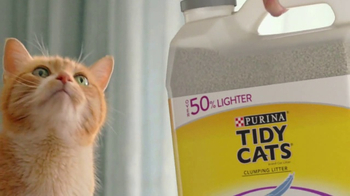 Purina Tidy Cats LightWeight With Glade TV Spot, 'The Power of Pleasant' - Thumbnail 7