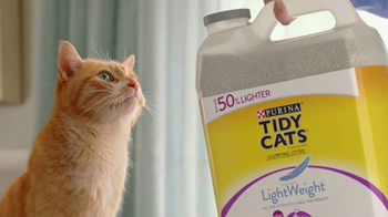 Purina Tidy Cats LightWeight With Glade TV Spot, 'The Power of Pleasant' - Thumbnail 8