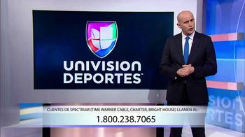 Univision Deportes Network TV Spot, ''Clientes de Spectrum' [Spanish]' - 204 commercial airings