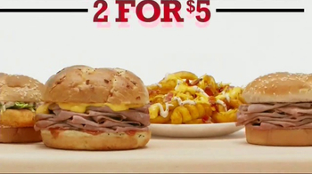 Arby's 2 for $5 Mix 'N Match TV Spot, 'Two by Two' - Thumbnail 7