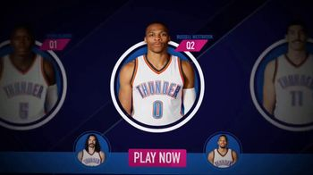 NBA InPlay TV Spot, 'Pick Your Players' - 538 commercial airings