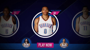 NBA InPlay TV Spot, 'Pick Your Players'