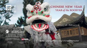 Lan Su Chinese Garden TV Spot, 'Chinese New Year: Year of the Rooster' - Thumbnail 10