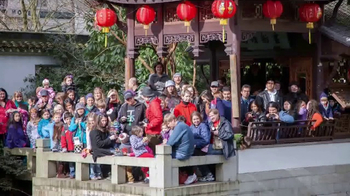 Lan Su Chinese Garden TV Spot, 'Chinese New Year: Year of the Rooster' - Thumbnail 2