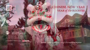 Lan Su Chinese Garden TV Spot, 'Chinese New Year: Year of the Rooster' - Thumbnail 9