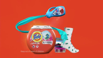Tide PODS Plus Downy TV Spot, 'Lost Socks' - Thumbnail 7