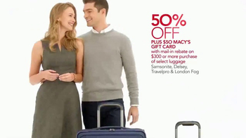 Macy's Home Sale TV Spot, 'Bedding, Luggage and Kitchenware' - Thumbnail 4
