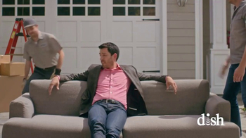 Dish Network Move-In Deal TV Spot, 'HGTV: Property Brothers Sofa' - Thumbnail 1