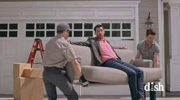 Dish Network Move-In Deal TV Spot, 'HGTV: Property Brothers Sofa'