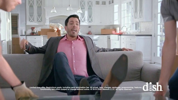 Dish Network Move-In Deal TV Spot, 'HGTV: Property Brothers Sofa' - Thumbnail 6