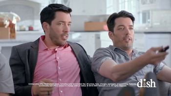 Dish Network Move-In Deal TV Spot, 'HGTV: Property Brothers Sofa' - Thumbnail 7