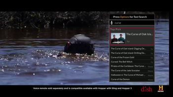 Dish Network TV Spot, 'History Channel: Curse of Oak Island - Smart Search' - Thumbnail 3