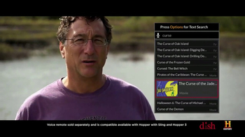 Dish Network TV Spot, 'History Channel: Curse of Oak Island - Smart Search' - Thumbnail 7