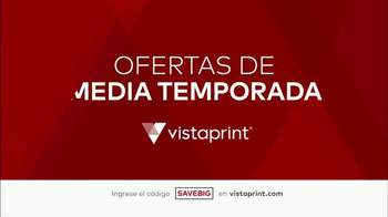 Vistaprint Ofertas de Media Temporada TV Spot, 'Es tiempo' [Spanish] - Thumbnail 1
