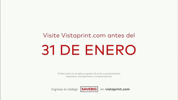 Vistaprint Ofertas de Media Temporada TV Spot, 'Es tiempo' [Spanish] - Thumbnail 6