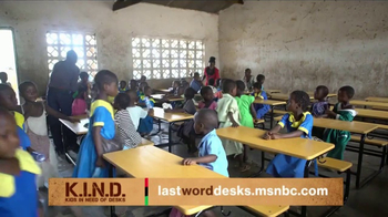 UNICEF K.I.N.D. Project TV Spot, 'Thank You from MSNBC: New Hope' - Thumbnail 1