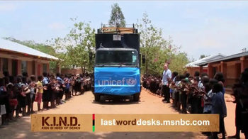 UNICEF K.I.N.D. Project TV Spot, 'Thank You from MSNBC: New Hope' - Thumbnail 2