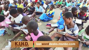UNICEF K.I.N.D. Project TV Spot, 'Thank You from MSNBC: New Hope' - Thumbnail 3