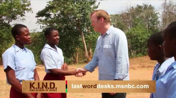 UNICEF K.I.N.D. Project TV Spot, 'Thank You from MSNBC: New Hope' - Thumbnail 4