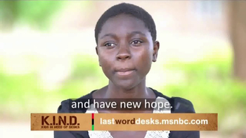 UNICEF K.I.N.D. Project TV Spot, 'Thank You from MSNBC: New Hope' - Thumbnail 5