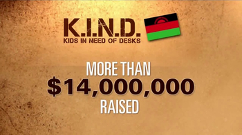 UNICEF K.I.N.D. Project TV Spot, 'Thank You from MSNBC: New Hope' - Thumbnail 6