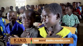 UNICEF K.I.N.D. Project TV Spot, 'Thank You from MSNBC: New Hope' - Thumbnail 7