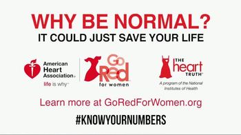 Go Red For Women TV Spot, 'The Heart Truth: Are You Normal?' - Thumbnail 10