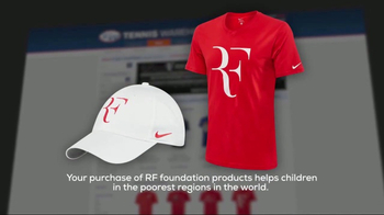 Tennis Warehouse TV Spot, 'Roger Federer Foundation: Products' - Thumbnail 8