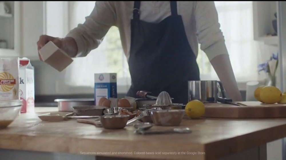 Google Home TV Commercial, 'Substitute for Butter'