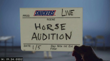 Snickers Super Bowl 2017 Teaser, 'Horse Casting Part 2' - Thumbnail 1