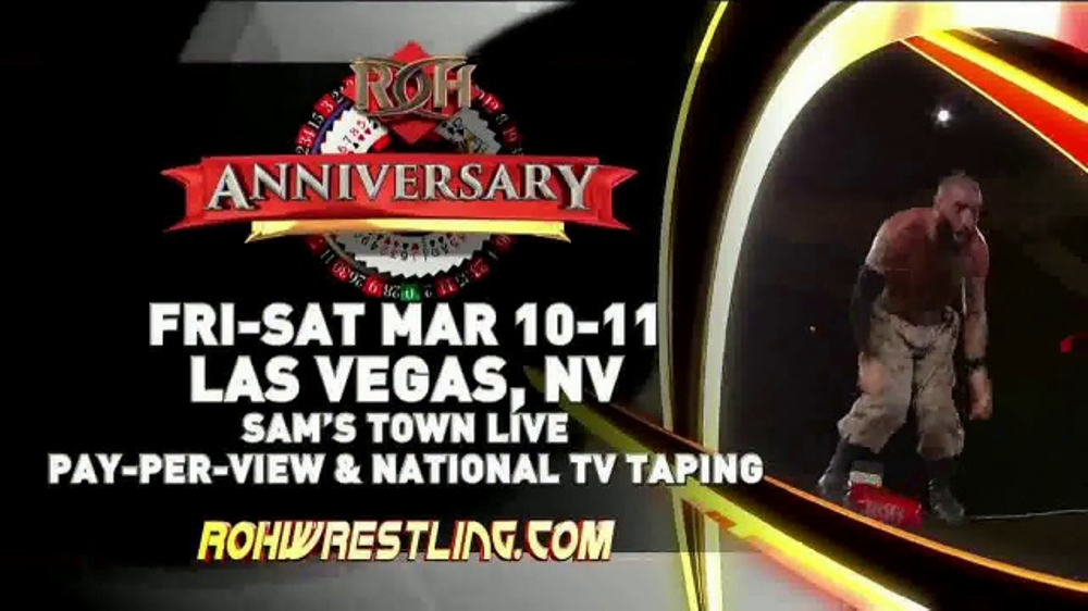 ROH Wrestling Live On Tour TV Commercial, 'February and March'