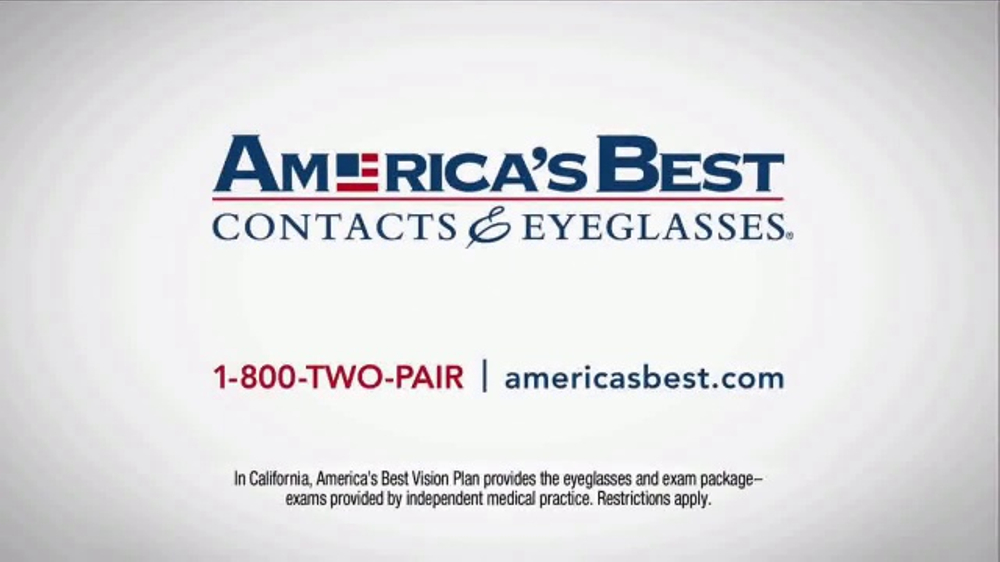 America 39 s best contacts and eyeglasses tv commercial 39 who for America s best contacts coupons
